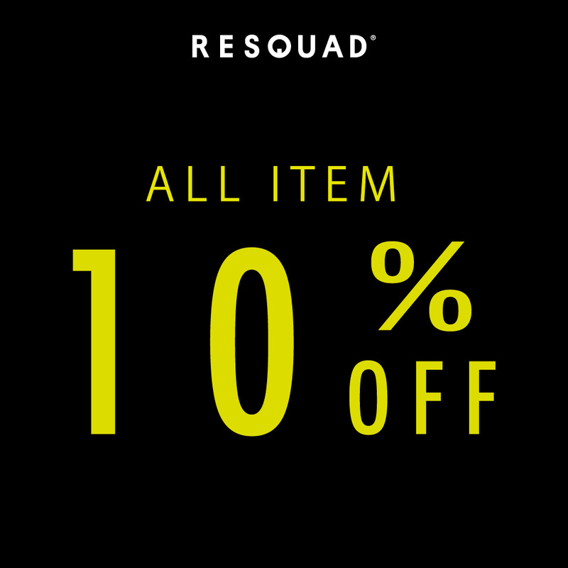 all item 10 off coupon resquad 原宿店のブログ