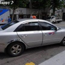 梨泰院からへタクシー…