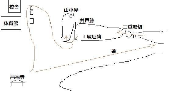 【図】坪谷城