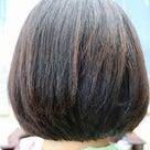 縮毛矯正ファイル65(硬毛でクセ強め ストパンパン襟足丸く)の記事より