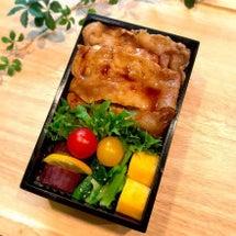 ◆豚の生姜焼き弁当 …