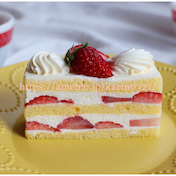 美しすぎる!カフェ ミクニズ「いちごのショートケーキ」四ツ谷