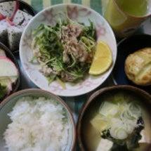 豚肉と水菜のハリハリ…