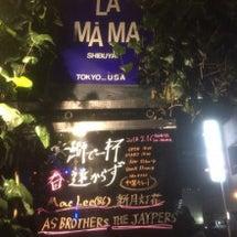 渋谷La.mamaで…