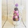 可愛いチョコレートマカロン完成!の画像