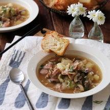 具沢山なスープ。