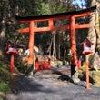 京都 貴船神社奥宮の…