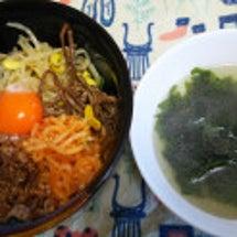お昼は、韓国料理