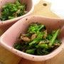 菜の花とツナの炒め物