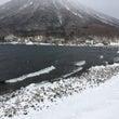 中禅寺湖周辺の冬景色