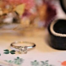 情熱の婚約指輪