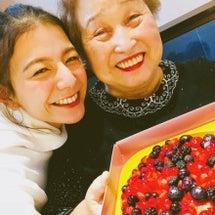 ばあちゃんお誕生日会…