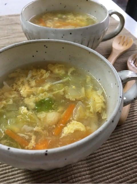 白菜 スープ