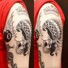 刺青★インディアン(腕)オールドスクール!の画像