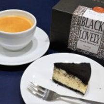 黒いチーズケーキ@e…