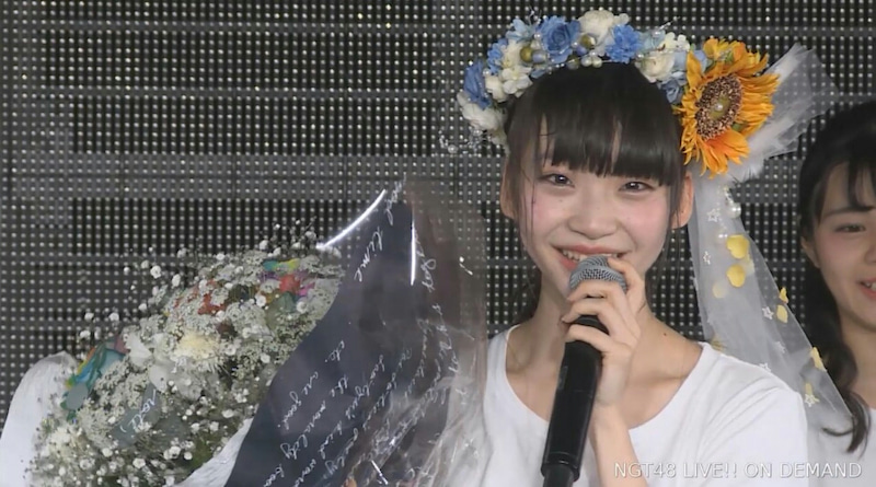 No.3649 2/18 NGT48 荻野由佳生誕祭公演   NGT48 新潟のヲタになりまし ...