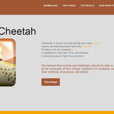 """スマートトレーナーの次は""""Golden Cheetah""""だな!の記事に添付されている画像"""