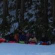 雪のキャンプ2日目そ…