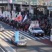 卑劣な妨害あれど新宿界隈を大行進!竹島奪還!日韓国交断絶国民大行進のご報告。