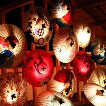 冬のお祭り【山鹿灯籠…