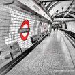 ロンドン地下鉄風景