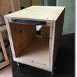 テーブルの脚を製作 …