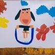 子供の作品を壁面に飾…