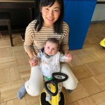 初めての三輪車とボー…