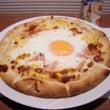 玉子のせピザ