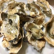 牡蠣とウチワエビ