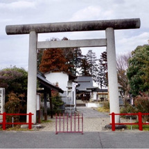 祖母井神社ご参拝