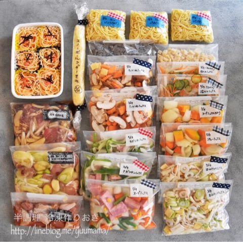 牛 丼 冷凍 保存 ガッツリ!牛カルビ丼 朝すぐ弁当Lab
