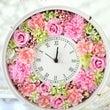 ピンクの花時計♪