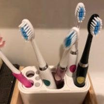 月1の歯ブラシの毛先…
