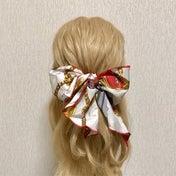 【読者さんリクエスト】スカーフを使ったキレイめ可愛いハーフアップアレンジの作り方★