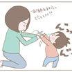 娘の鼻水対応
