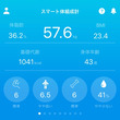 57.6kg いつも…