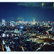 綺麗な夜景♪