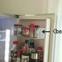 冷蔵庫のドアポケット…