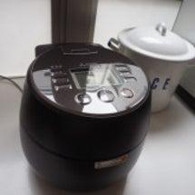 新しい炊飯器を
