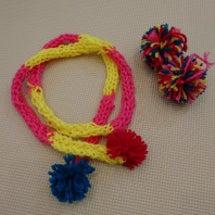 毛糸で制作♪