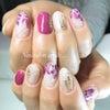Flower art nailの画像