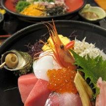 江の島天海で海鮮丼+…