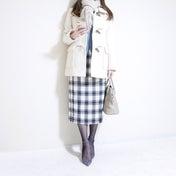 【GU】気づけば3枚買い?!つい色違いコーデするほど愛用のニット×スカート