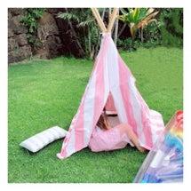 休日のテント