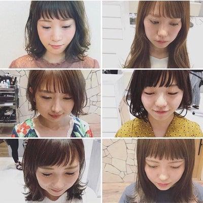 巻かない前髪でスタイリングが楽チン☆ 担当 瀬戸島の記事に添付されている画像