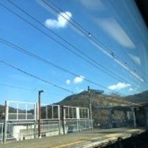 今日は久々の電車旅*…