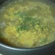 とり鍋の〆に、雑炊、…