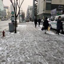 ソウルは雪が降りまし…