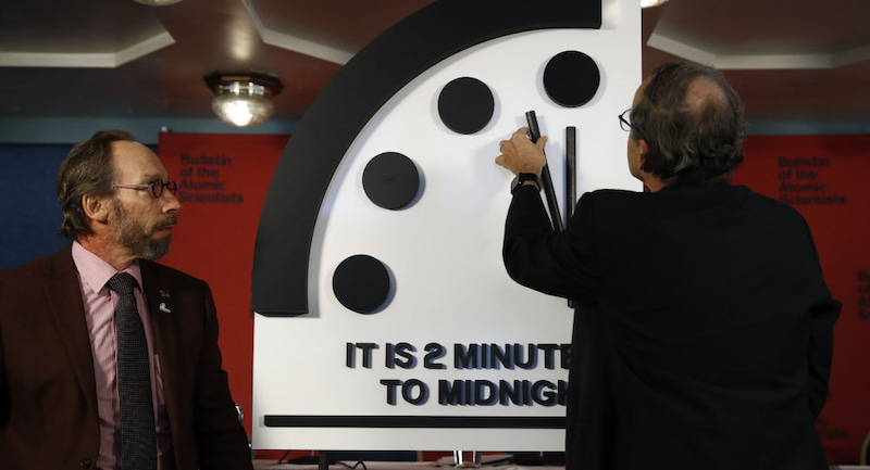 世界終末時計 あと2分! あれから時計は進んでいるのか? | 福音 ...